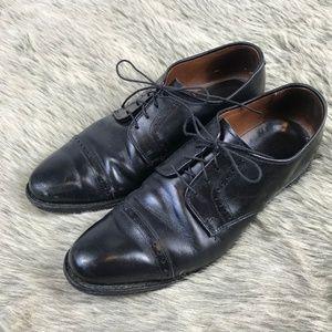 Allen Edmonds Clifton Black Leather Oxfords 9.5 D